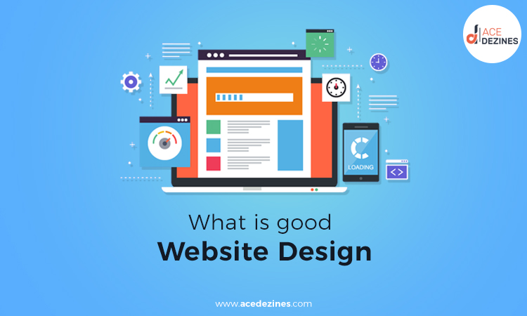 What is good website design